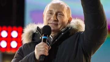Владимир Путин печели над 76% от гласовете на президентските избори в Русия