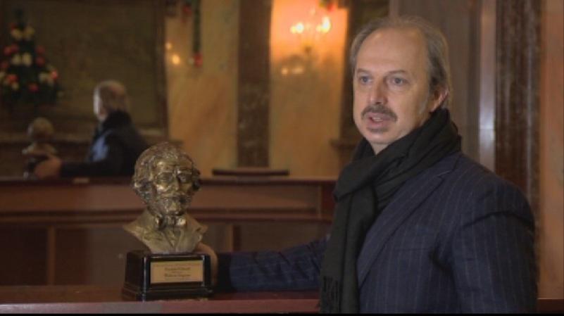 Българският баритон Владимир Стоянов беше удостоен с наградата