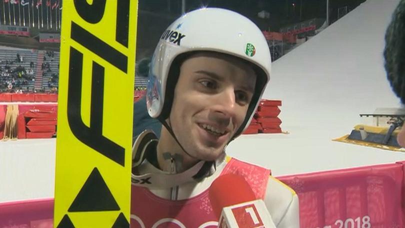 снимка 1 Владимир Зографски преодоля олимпийската квалификация в ски скока