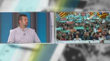 Владислав Пунчев: Сепаратистите са малцинство в Каталуния