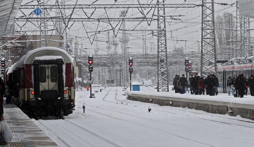 Затворен за движение на влаковете е жп участъкът между Самуил и Каспичан
