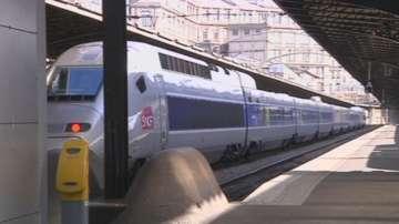 Част от германските железници спряха работа