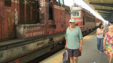 Запали се локомотивът на пътническия влак Ямбол-Бургас