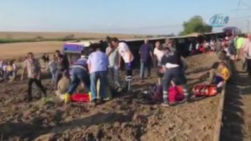 Железопътна катастрофа в Северна Турция, най-малко 10 са загинали