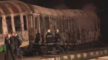 Късо съединение в инсталацията е най-вероятна причина за пожара във влака снощи
