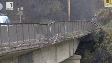 Опасни мостове във Велико Търново