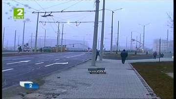 Пускат кръговото кръстовище в Русе след реконструкция
