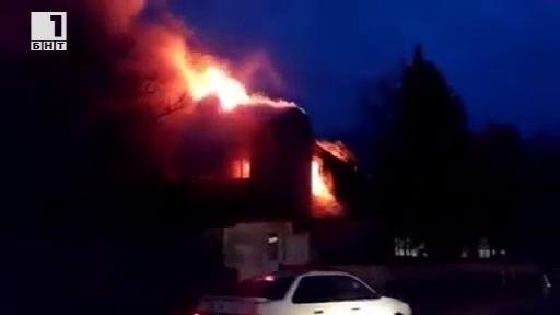 Пожар изпепели основното училище в Карнобат