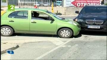 Опасно кръстовище в София