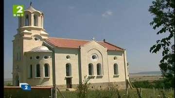 Възстановиха храма в Бързица