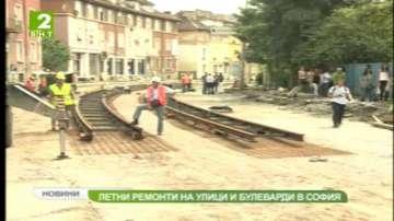 Ремонтът на улица Козлодуй в София приключва през октомври
