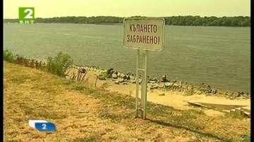 Без плажове на брега на река Дунав