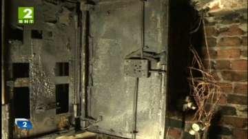 Пожар горя в жилищна сграда в София