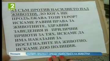 Готвят протест срещу убийствата на животни в Пловдив