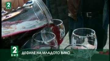 Дионисиево шествие с младо  вино в Пловдив