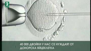 40 000 двойки у нас се нуждаят от донорска яйцеклетка