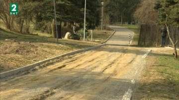 Тежката зима унищожи нова велоалея