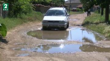 Язовир Тракиец потече по улиците на хасковското село Конуш