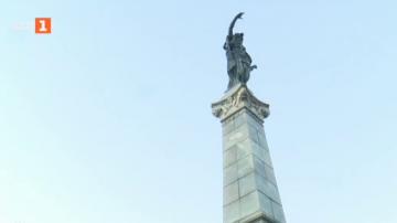 Паметникът на Свободата в Русе се нуждае от ремонт