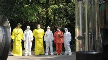Екипи на ВМА тренираха за бедствие с много пострадали и заплаха от епидемия