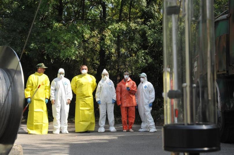 екипи вма тренираха бедствие пострадали заплаха епидемия