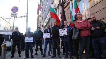 ВМРО излезе на протест срещу действията на Турция