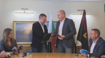 ВМРО и Земеделският народен съюз подписаха споразумение за евроизборите