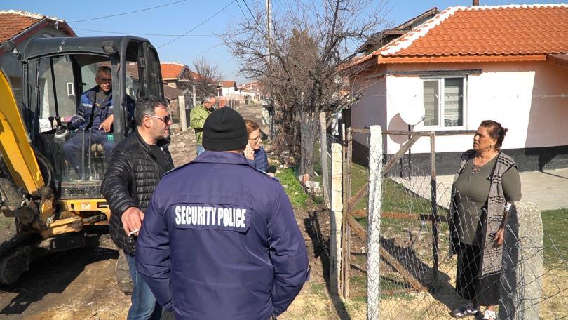 Спряха водата на задлъжнели абонати в Хасково