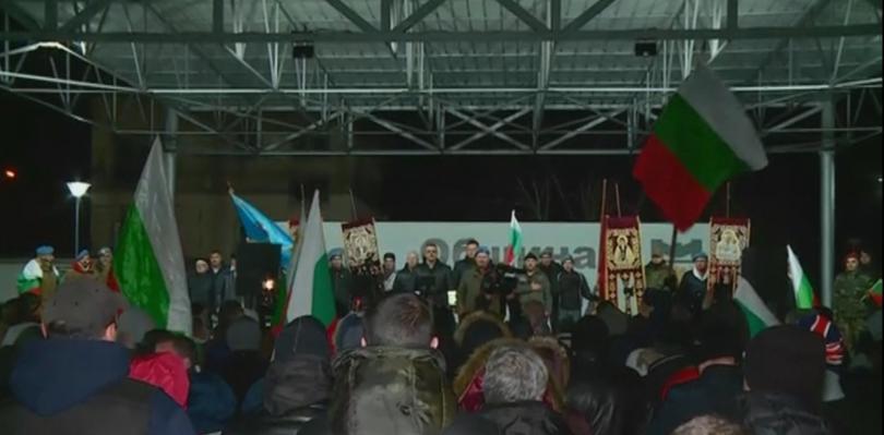 Снимка: Във Войводиново тази вечер се проведе най-многолюдният протест досега