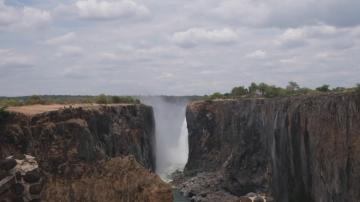 Водопадът Виктория пресъхва