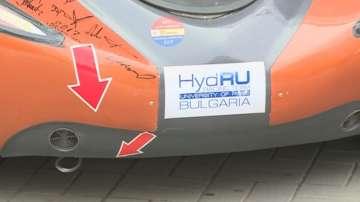 Русенски ученици задвижиха автомобил с водород