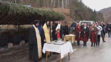 Курбан за по-малко жертви по пътищата раздадоха на пътя Смолян-Пловдив