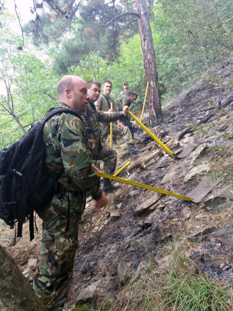 Модулното формирование от състава на 61-ва механизирана бригада - Карлово