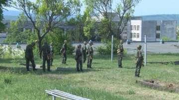 Курс по начална военна подготовка в НВУ във Велико Търново