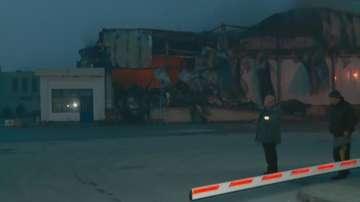 Пожарът в завода за месо край Войводиново още не е загасен напълно