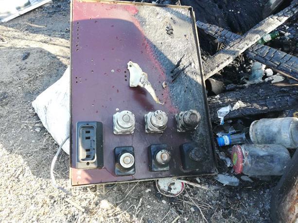 Снимка: Пожар изпепели барака в село Войводиново