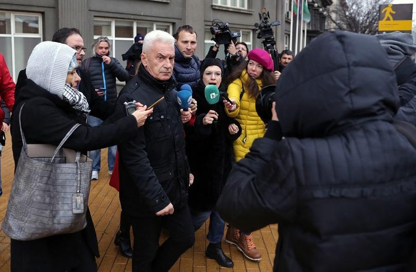 Лидерът на Атака Волен Сидеров каза в МС, че не