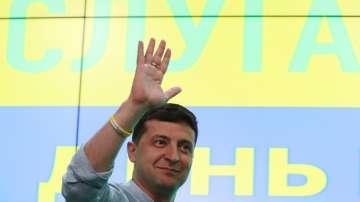 Партията на Зеленски е големият победител на изборите в Украйна