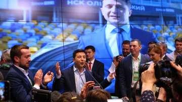 Володимир Зеленски печели президентските избори в Украйна