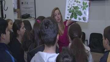 Урок за опазване на природата имаха учениците във Враца