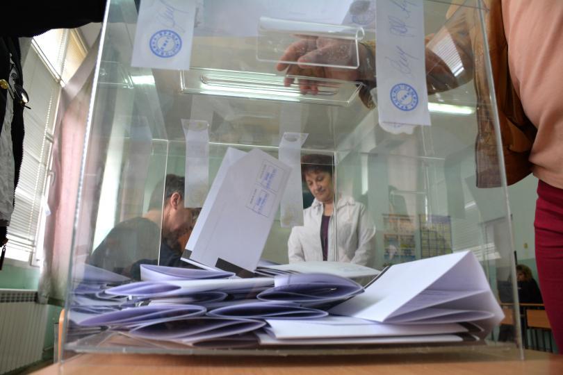 близо сто избирателите област враца гласували часа