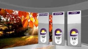 Облаци и слънце ще се редуват през новата седмица