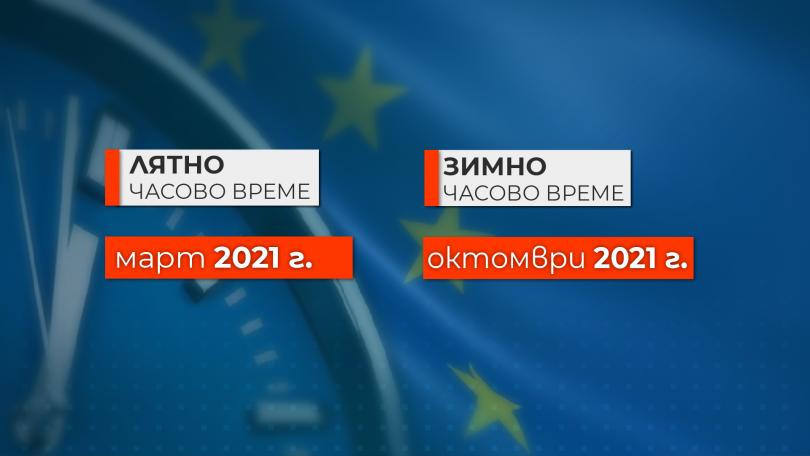 Европарламентът днес гласува окончателното отпадане на смяната на времето да