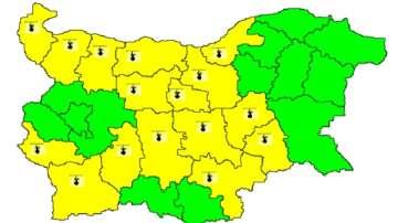 Очаква се температурите да надвишат 35° в Западна и Централна България