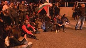 Протестиращи блокираха главния път София - Варна при входа на Велико Търново