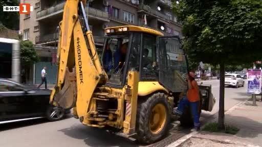Десетки търговски обекти в центъра на Велико Търново са били