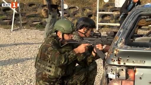 В памет на петимата български военнослужещи, които загинаха по време