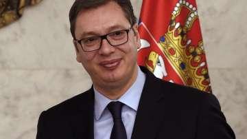 Президентът на Сърбия Александър Вучич на посещение у нас
