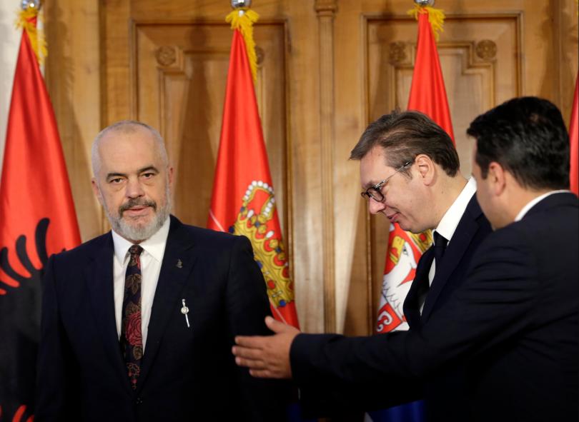 снимка 1 Започва тристранна среща Вучич – Рама – Заев в Нови Сад