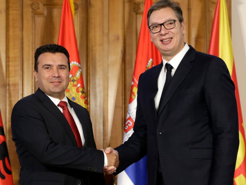 снимка 2 Започва тристранна среща Вучич – Рама – Заев в Нови Сад